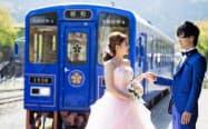 結婚式のイメージ写真(後方が昭和)