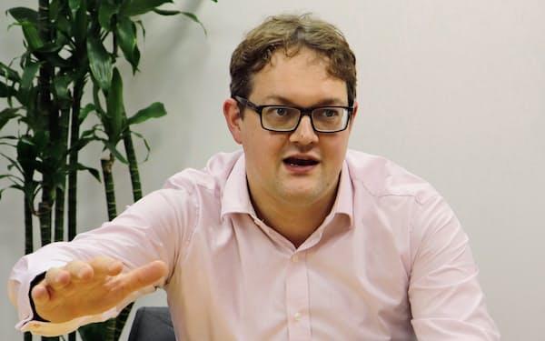 ロンドン金属取引所の(LME)のマシュー・チェンバレン最高経営責任者(CEO)