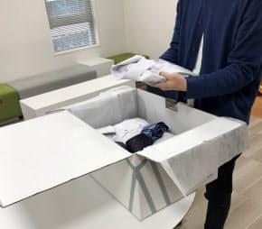 手ごろな料金で毎月異なるスーツを楽しむことが可能に(AOKIの「suitsbox」)