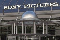 ハッカー集団から攻撃を受けたソニー映画子会社(米カリフォルニア州)=AP
