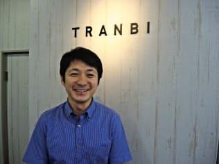 高橋聡社長(たかはし・そう)1977年生まれ。米デュポール大を卒業しアクセンチュアに入社。2005年に父が創業したアスク工業入社。10年に同社社長。11年に社内事業としてトランビ創業、16年会社設立。長野県出身。41歳。