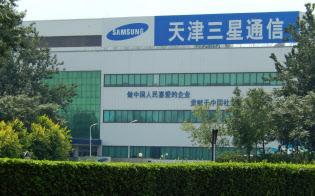 生産停止が報じられたサムスンのスマホ工場