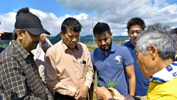 アスク インドで山形のコメ栽培、輸出機運を醸成