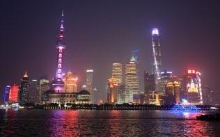 上海の街並みは、バブル期の東京やリーマン危機前のニューヨークの雰囲気を醸し出している