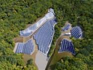 NTTファシリティーズは、愛知県瀬戸市で太陽光発電所の開発を始めた(写真はイメージ)