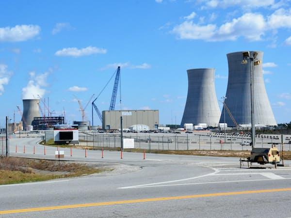 米ジョージア州のボーグルに建設中の原発2基
