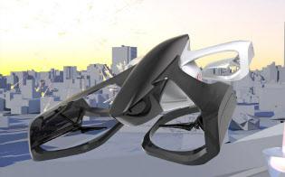 日本の有志団体、カーティベーターが開発する空飛ぶクルマ「スカイドライブ」