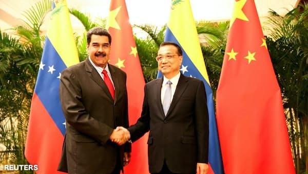 ベネズエラ、中国と経済協力で合意 首脳会談で