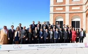 日米中などはG20貿易相会合に閣僚の派遣を見送った(アルゼンチン・マルデルプラタ)