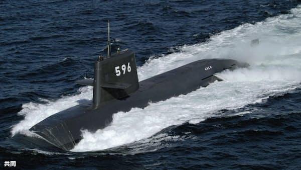 海自潜水艦が南シナ海で訓練 初の公表、中国けん制