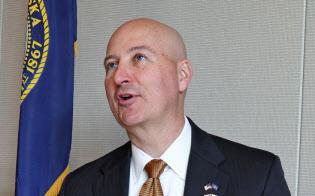 ネブラスカ州のリケッツ知事