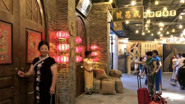 上海のレトロ文化じわり復活