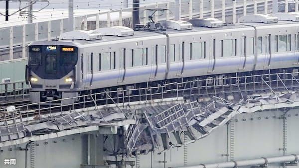 関空の鉄道復旧 1日6万人強のアクセス可能に