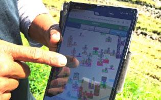 クラウド上で農作業を管理するトヨタ自動車の「豊作計画」(愛知県弥富市)