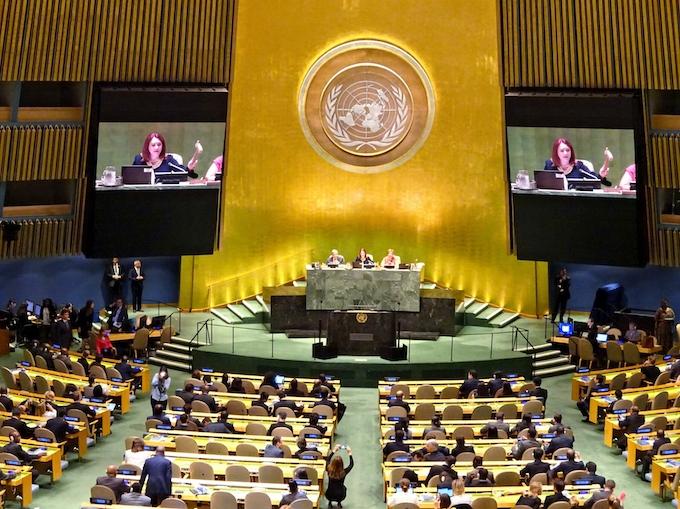 国連総会が開幕、27日に安保理で北朝鮮議論も: 日本経済新聞