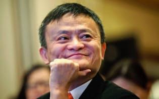 54歳になったばかりの馬氏は、同年代の経営者の中で初めて自身が築き上げた大企業の経営から身を引く=AP