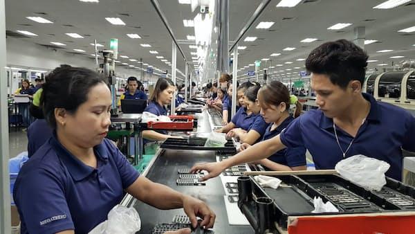 台湾EMSの新金宝、米中摩擦で脱「中国生産」