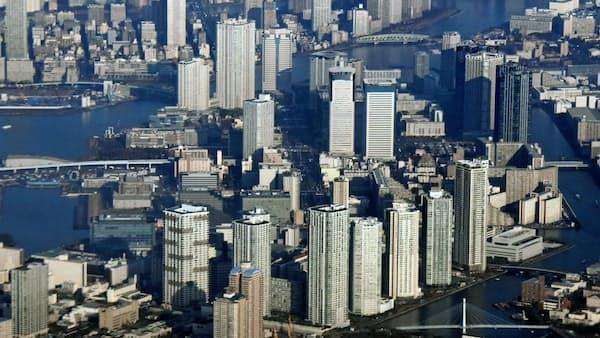 ITに従事する外国人、住まいは中央区や千代田区