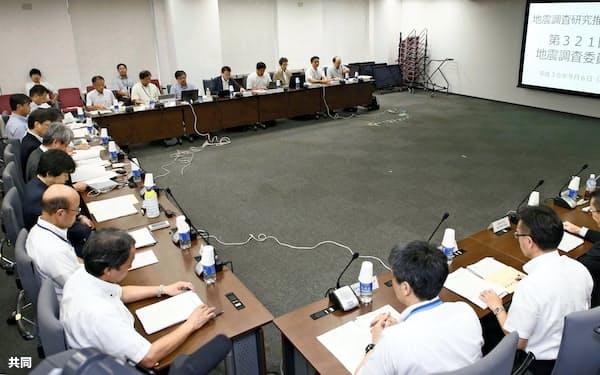 北海道地震を受けて開かれた政府の地震調査委員会(6日)
