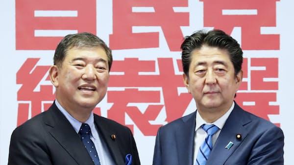 安倍首相、自民党総裁3選へ 午後2時すぎ選出
