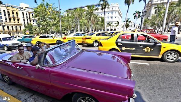 キューバ、訪問者数4%減 米・カナダの落ち込み響く