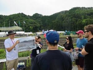 釜石市などは外国人向けに民泊の試験事業を行った