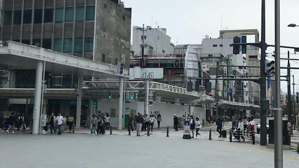福井駅前、飲食店けん引 地価上昇率で郊外抜く
