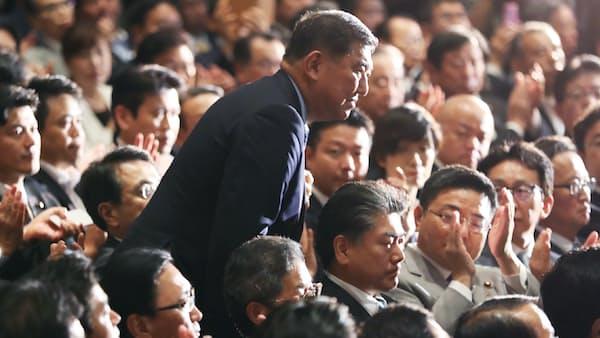石破氏、10県で首相制す 都市部でも善戦