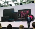 画面付きや車向けなど、アマゾンは「エコー」の品ぞろえを広げる(20日、シアトル)