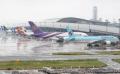 全面再開した関西空港第1ターミナル(21日午前)