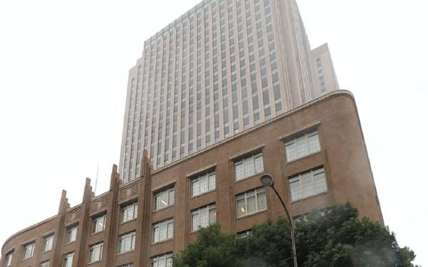 2代続けて事務次官が引責辞任した文科省(21日午前、東京・霞が関)