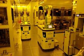 半導体業界は開発と製造の分業が進む(ルネサスの工場)
