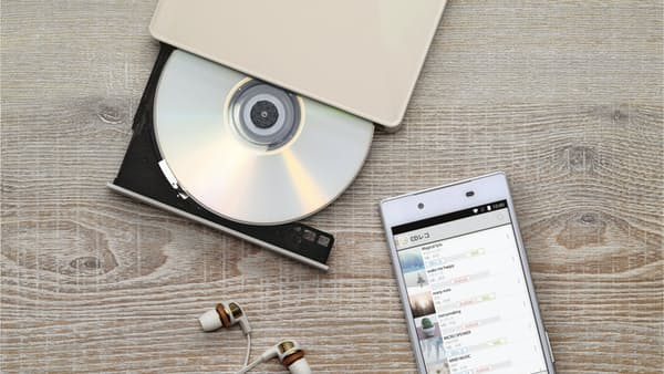 音楽 スマホ直接取り込み アイ・オー・データ機器の「CDレコ」