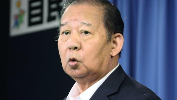 二階氏、党幹事長に留任 岸田氏は要職で処遇へ