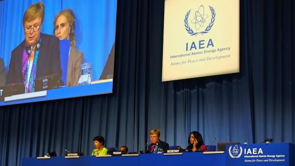 非核化へ行動要求、北朝鮮決議を採択 IAEA総会