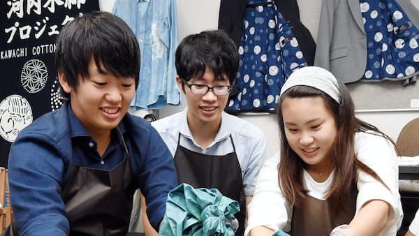 河内木綿、復活に挑む 大阪経済法科大(キャンパス新景)