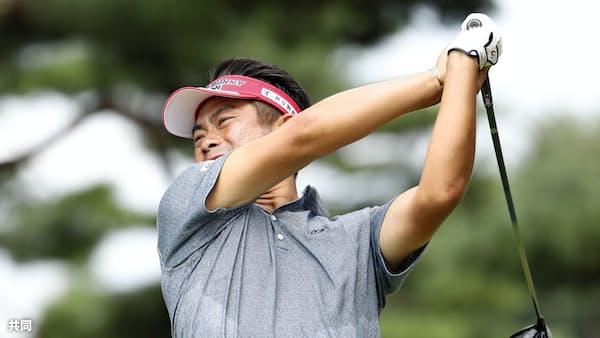 池田、連日の66で首位 ゴルフのダイヤモンド・カップ第3日