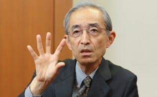 三菱UFJフィナンシャル・グループの平野信行社長