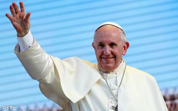 法王は日本への訪問にも意欲を示している=ロイター
