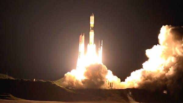H2Bロケット打ち上げ成功 こうのとり7号を搭載