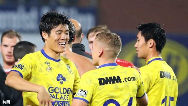 鎌田、2試合連続ゴール ベルギー1部リーグ