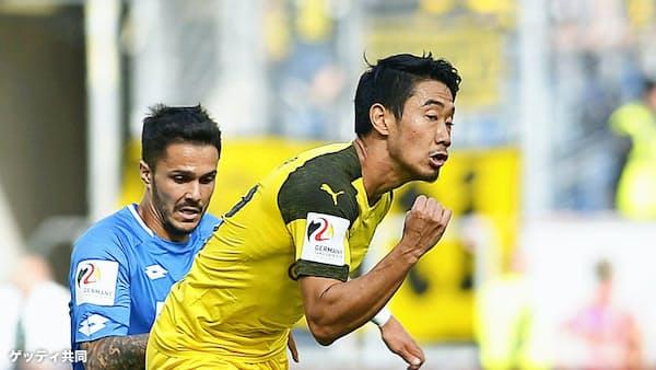 香川が今季初先発 久保フル出場、海外サッカー