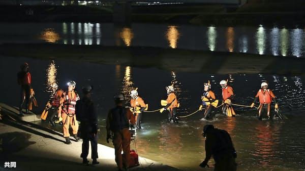 川遊びの小3男児死亡 大阪・大和川で流される