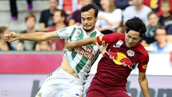 中島が2得点 海外サッカー、南野は今季2点目