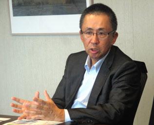6月に理事長に就任した榊田隆之氏(11日、京都市下京区)
