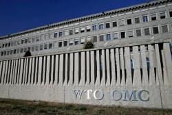 改革を迫られるWTOの本部(スイス・ジュネーブ)=ロイター