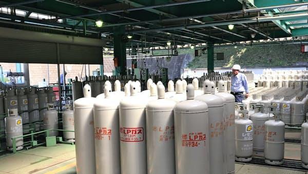 米産LPG 4年ぶり高値 原油高波及、輸出は堅調