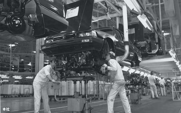 ホンダのオハイオ工場は1982年に生産を始めた
