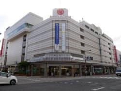 2020年3月に閉店する新潟三越(26日、新潟市中央区)