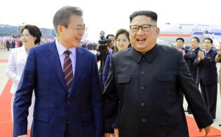 朝鮮中央通信撮影・共同